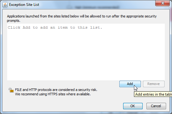 Java security issue