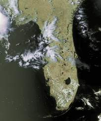 Florida APT image (derived from HRPT)