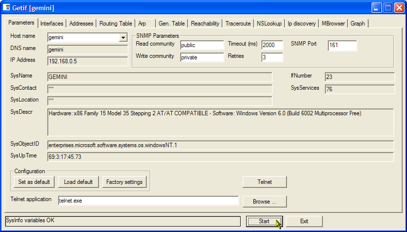 Performance monitoring with MRTG & SNMP Informant, Disk